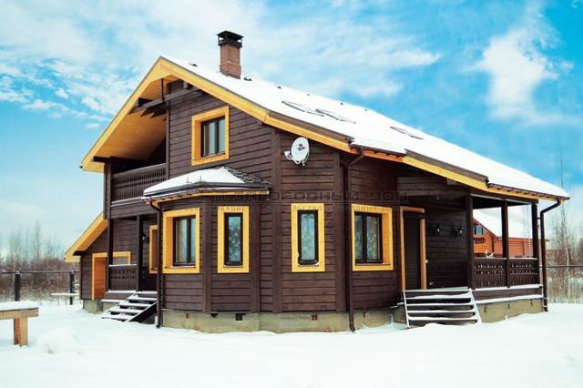 Готовые проекты домов из из пенобетона, газоблока или кирпича