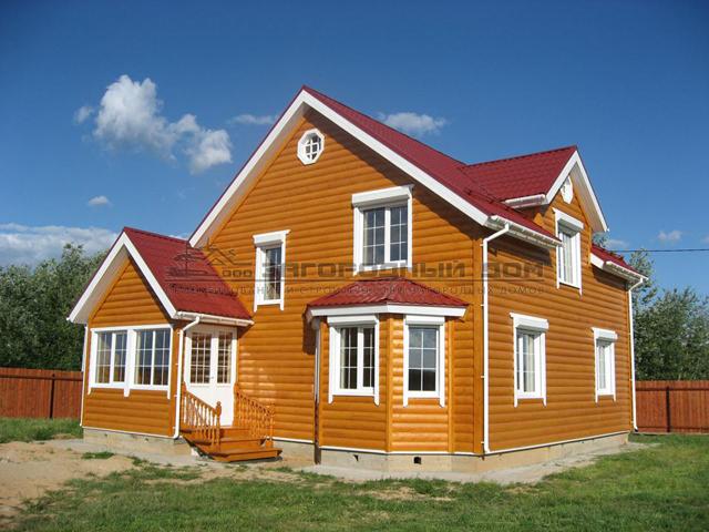 Сколько стоит работа фасада блок хаусом